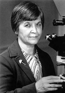 Stephanie Kwolek, chemist and inventor of Kevlar, the material of bullet proof vests